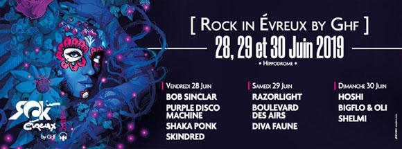 Rock In Evreux 2019